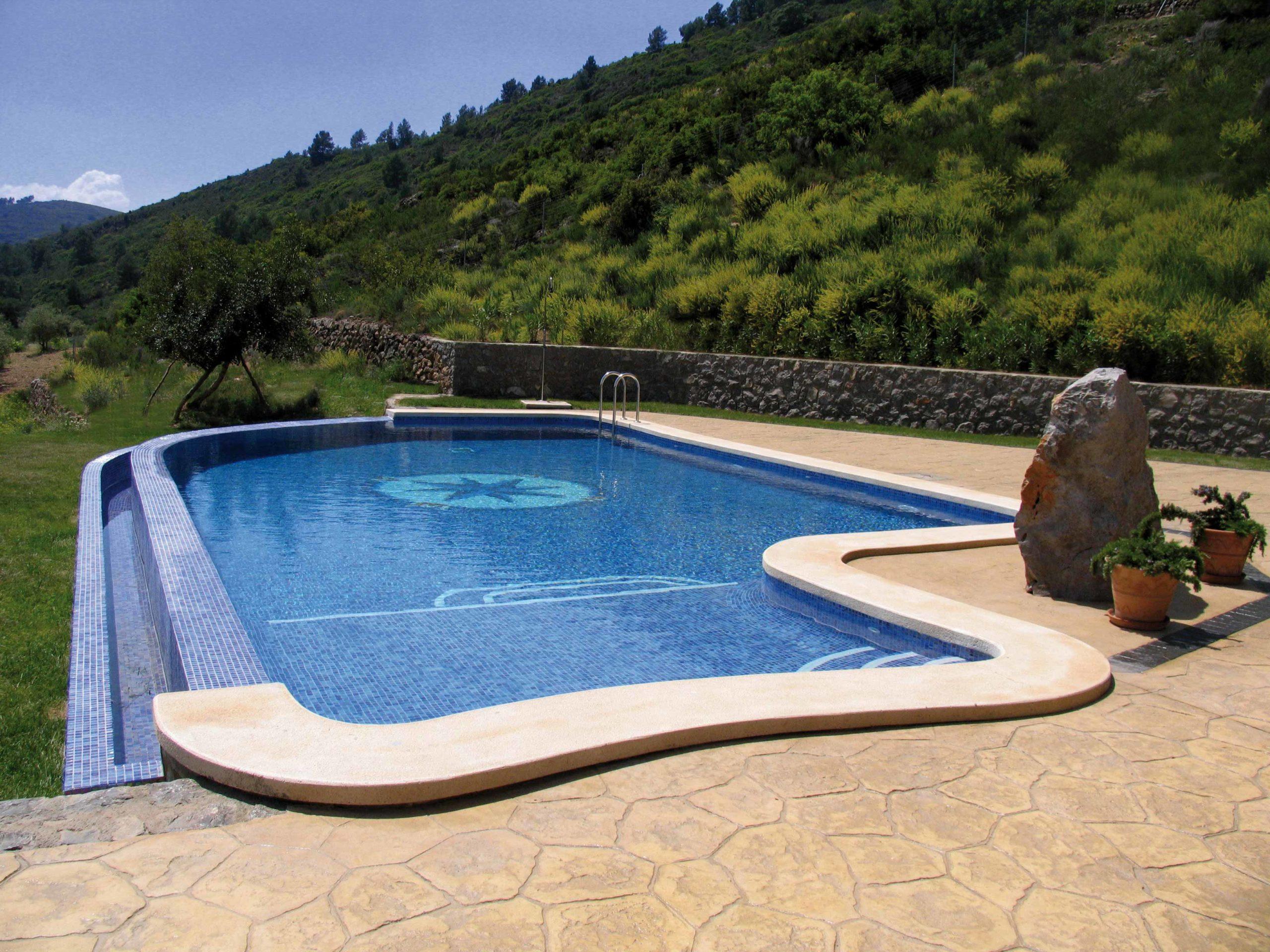 Mosaïque piscine réalisation Sols Concept - AMB-ROSA-VIENTOS-MOSAVIT