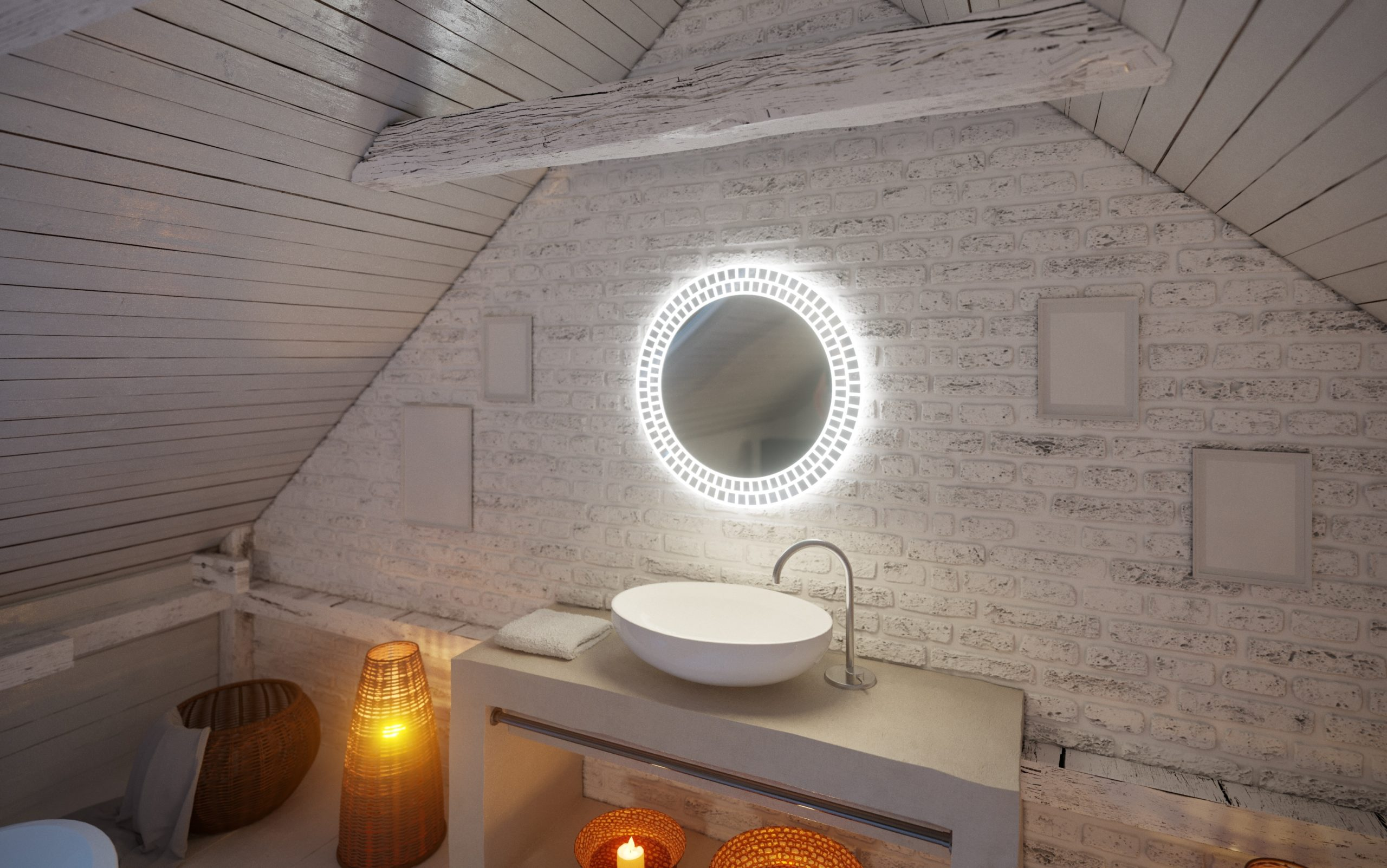 miroir salle de bains sols concept gardanne