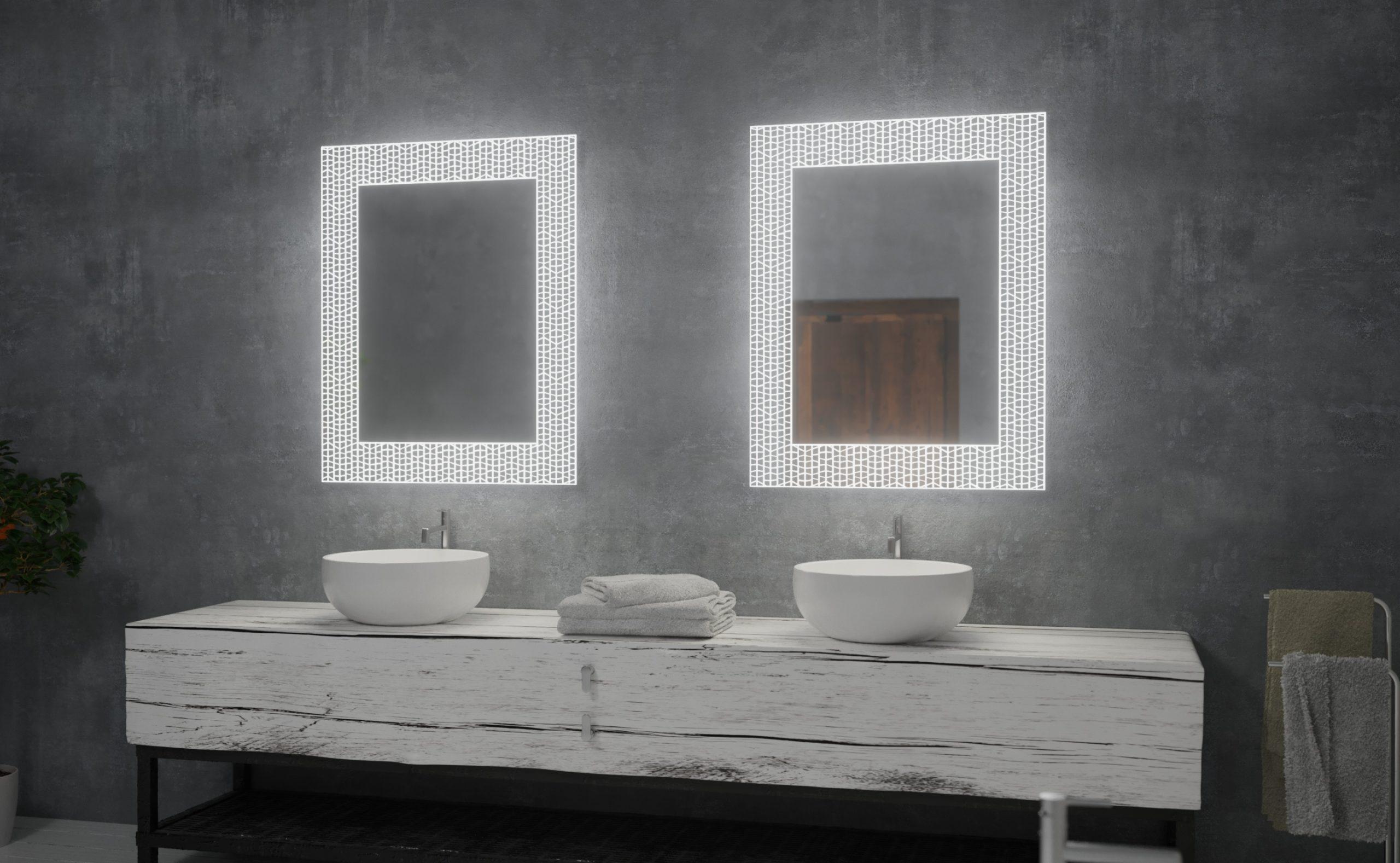 miroir salle de bains sols concept plan de campagne